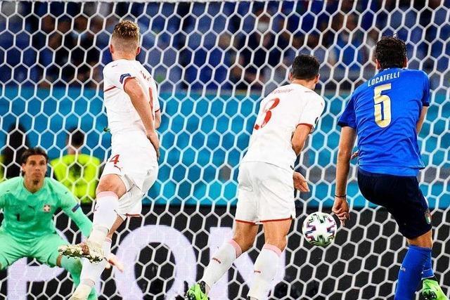 Italien als erstes Team im Achtelfinale – 3:0 gegen die Schweiz