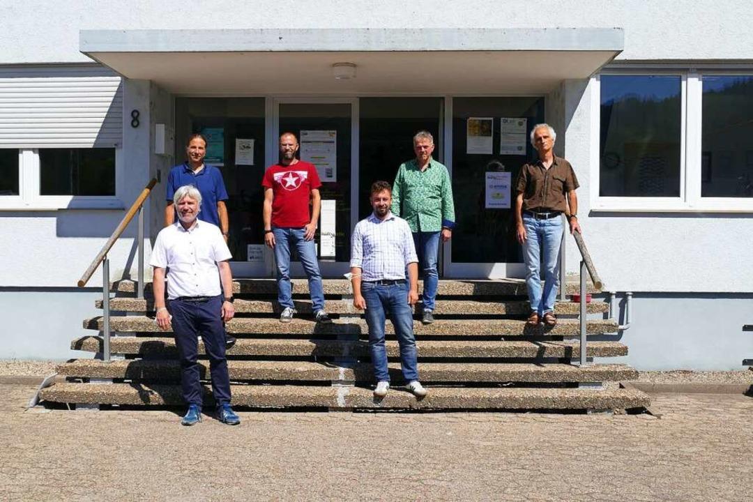 Marco Chiriatti, Martin Fischer, Joach...ude der Wabe in der Mauermattenstraße.    Foto: Savanna Cosma