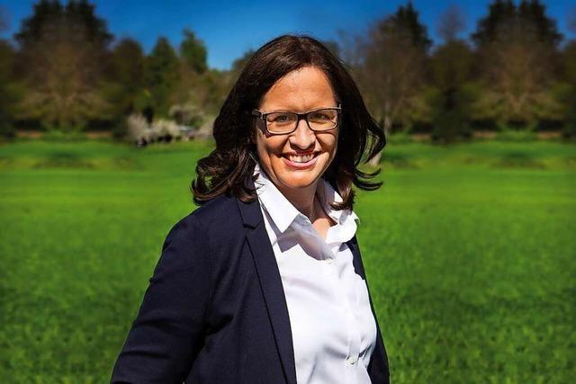 Kandidatin Simone Lenenbach stellt sich vor