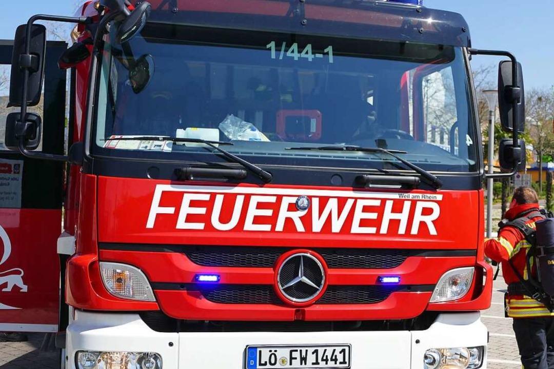 Einsatz für die Feuerwehr am Rhein (Symbolbild)    Foto: Victoria Langelott