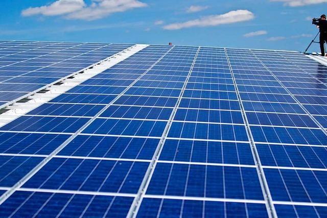 Landkreis will mehr Solaranlagen auf Gebäudedächern sehen