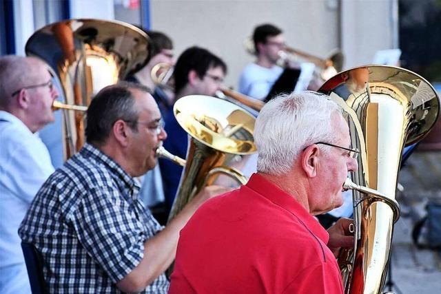 Die drei Lörracher Musikvereine können wieder gemeinsam proben