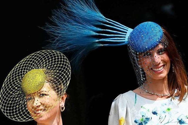 Die verrücktesten Hüte beim Royal Ascot 2021