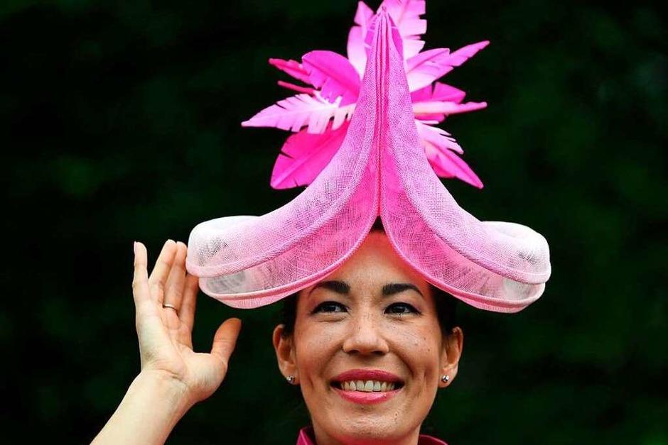 Die verrücktesten Hüte beim Royal Ascot 2021 (Foto: DANIEL LEAL-OLIVAS (AFP))