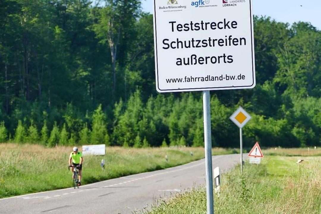Kurz vor Kandern-Holzen endet die etwa...urchs Feuerbachtal entlang der K 6351.    Foto: Victoria Langelott