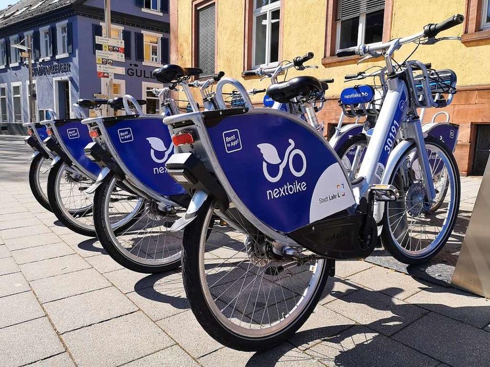Leihfahrräder sollen in der Badesaison...am Waldmattensee zur Verfügung stehen.    Foto: Stadt Lahr