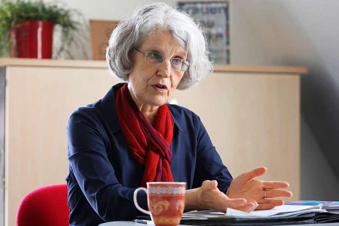 Regina Geppert war 20 Jahre lang Gleic...ird sie in den Ruhestand verabschiedet    Foto: Christoph Breithaupt