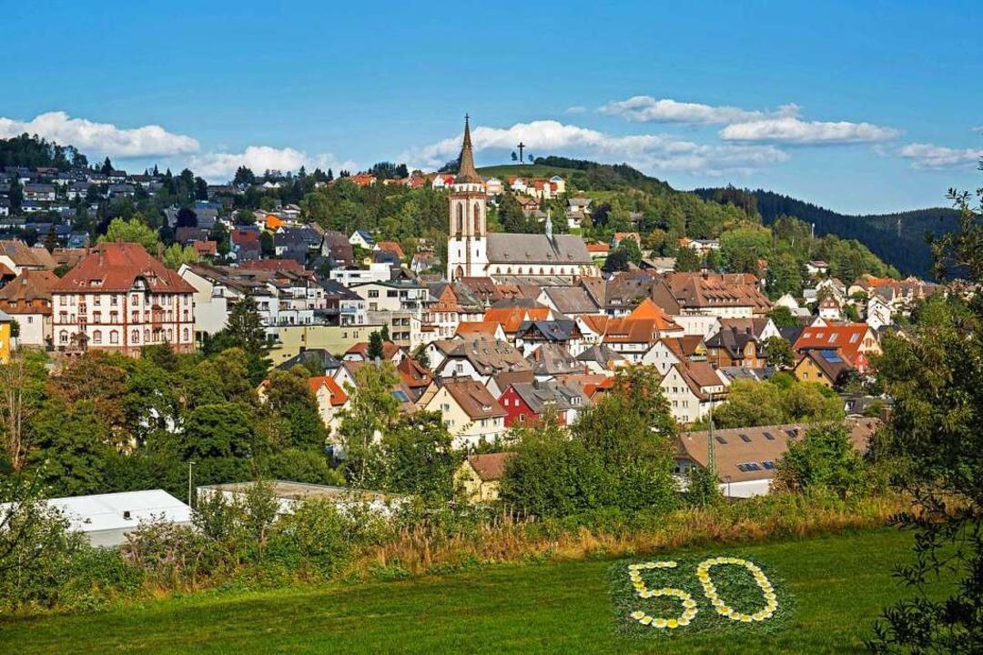 Ein Wahrzeichen Titisee-Neustadts ist ...feiert die Stadt ihren 50. Geburtstag.    Foto: Schlesier (stock.adobe.com)