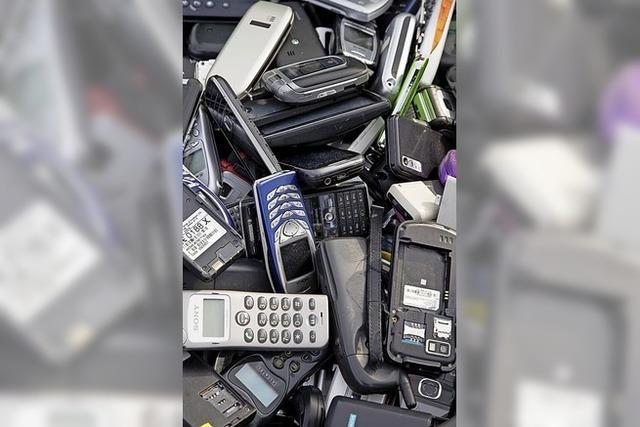 Handys für den guten Zweck