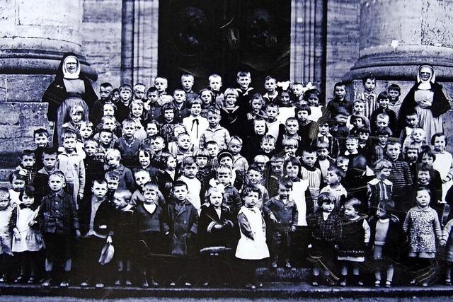 Kinderschule begann in der Spinnerei