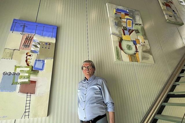 Bruno Haas als Maler weiter aktiv