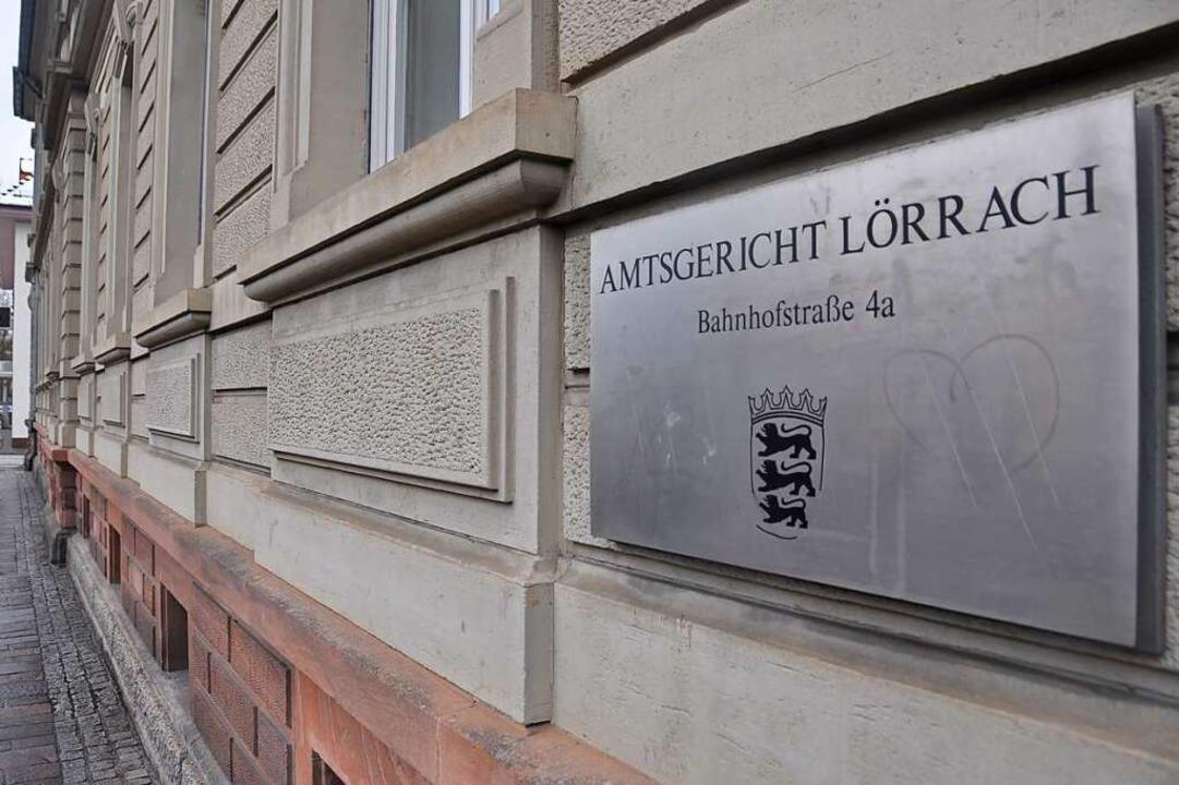 Das Amtsgericht in Lörrach  | Foto: Daniel Gramespacher