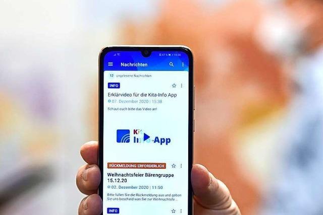 Die Kita-App aus dem Hexental hilft Eltern
