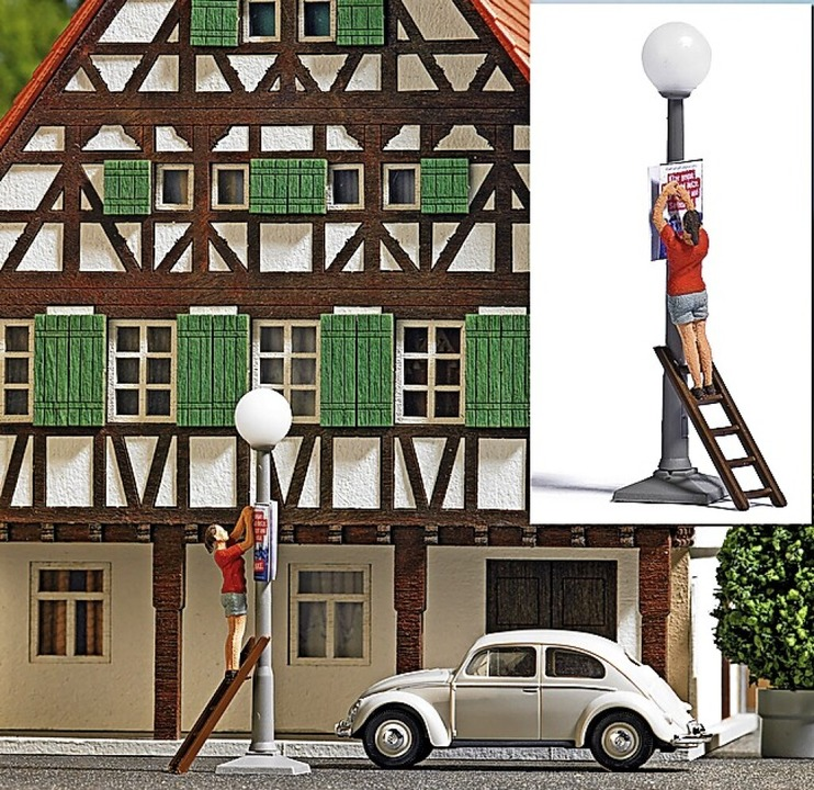 Das Plakat kennt man auch aus Freiburg.   | Foto: Busch Model