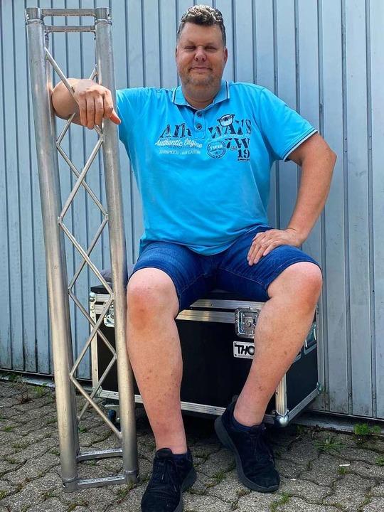 Stephan Lievert, Data-Sound-Company in Kandern Geschäftsführer  | Foto: Data-Sound-Company