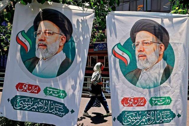 Wahl ohne Wähler: Der nächste Präsident dürfte Ebrahim Raisi heißen