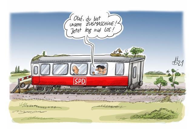SPD-Wahlkampf-Idyll