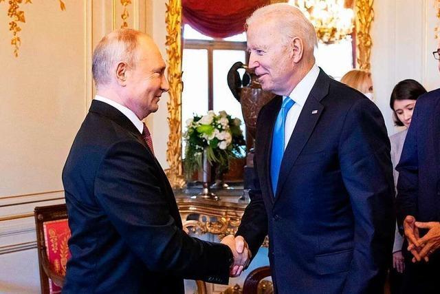 Bidens Angebot ist eine Chance für Putin