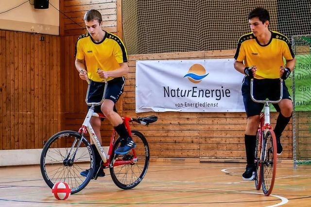 Öflinger Radballer kämpfen um die Teilnahme an der Junioren-EM