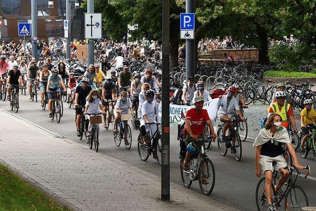 Tunnelsperrung am wegen Demo – Stadt Freiburg fürchtet Staus