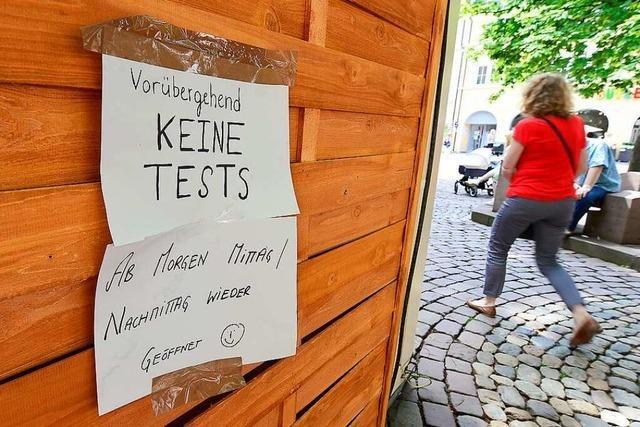 Gesundheitsamt kontrolliert 13 Testzentren in Freiburg – und schließt 10