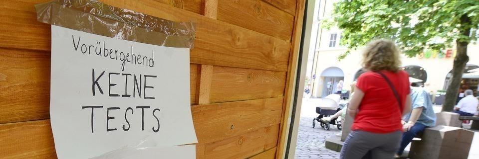 Gesundheitsamt kontrolliert 13 Testzentren in Freiburg - und schließt 10