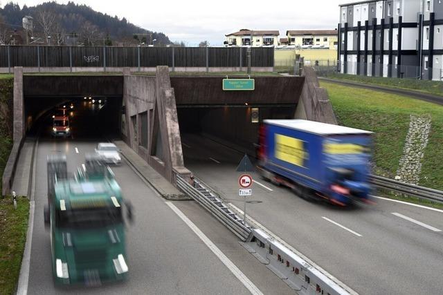 B31-Tunnel in Freiburg am Freitagnachmittag zu – wegen Fahrrad-Demo