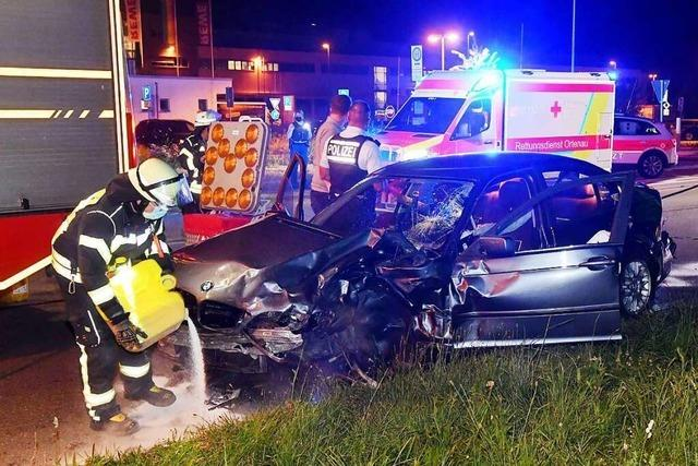 Zwei Verletzte nach Unfall auf dem Flugplatzareal in Lahr