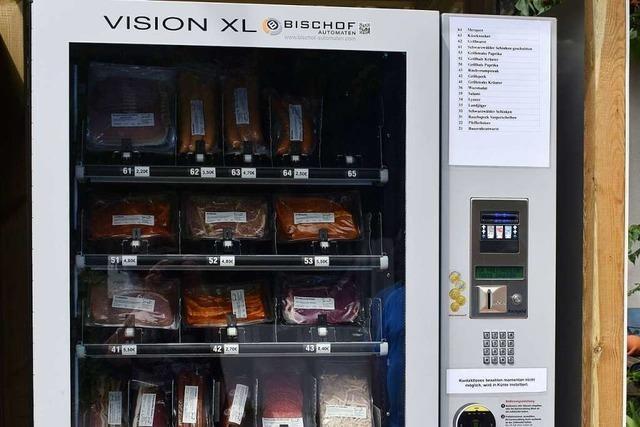 Lösung in Sicht: Fleischautomat in Schuttern wird in Seitenstraße verlegt