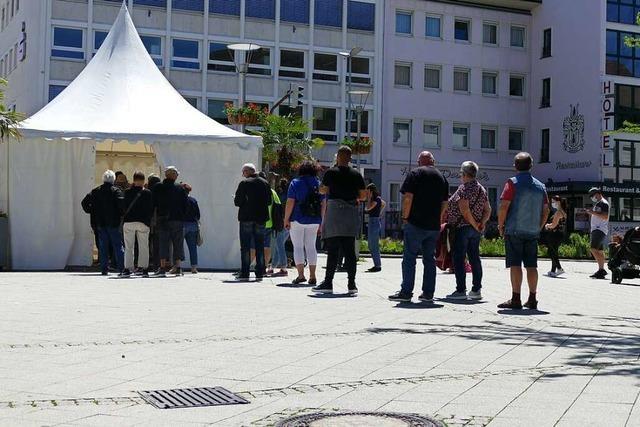 Rheinfelden lässt zwei Testzentren schließen – Betreiber widerspricht Stadtverwaltung