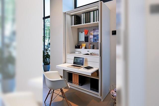 Das kleine Büro zu Hause