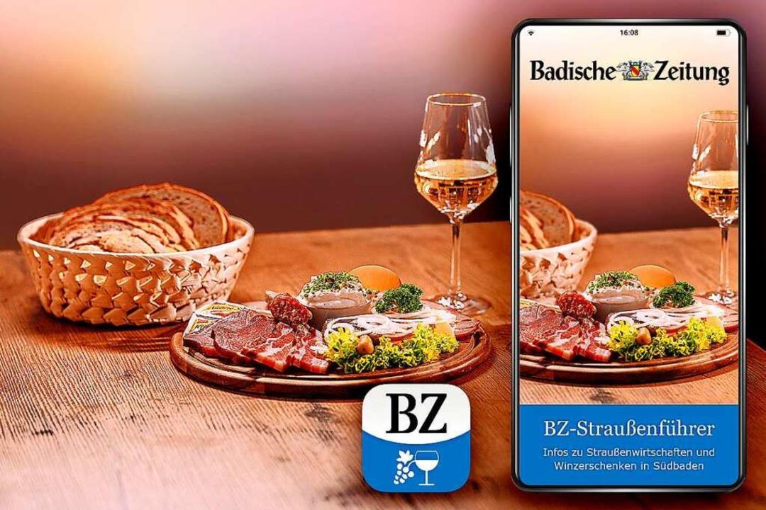 Die BZ-Straußenführer-App ist jetzt mi...erten Corona-Öffnungszeiten verfügbar.  | Foto: Fabio Smitka
