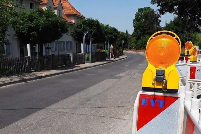 Ortschaftsrat Haltingen ist gegen Erschließungsbeiträge für die Güterstraße