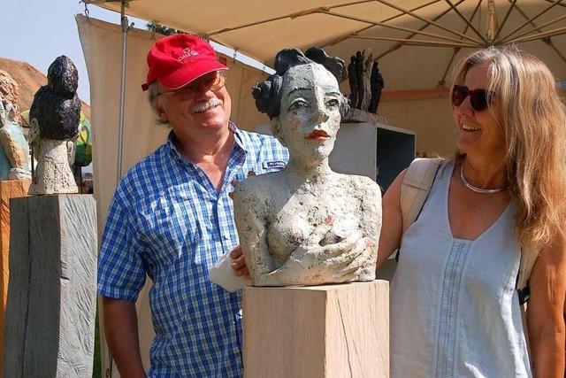 Wie war's beim Töpfer- und Künstlermarkt auf Schloss Beuggen?