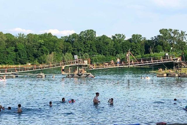 Badegäste an Ortenauer Badeseen ignorieren Verbote