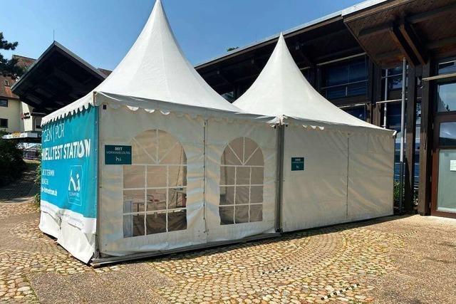 Amt schließt vier Corona-Test-Stationen im Kreis Breisgau-Hochschwarzwald