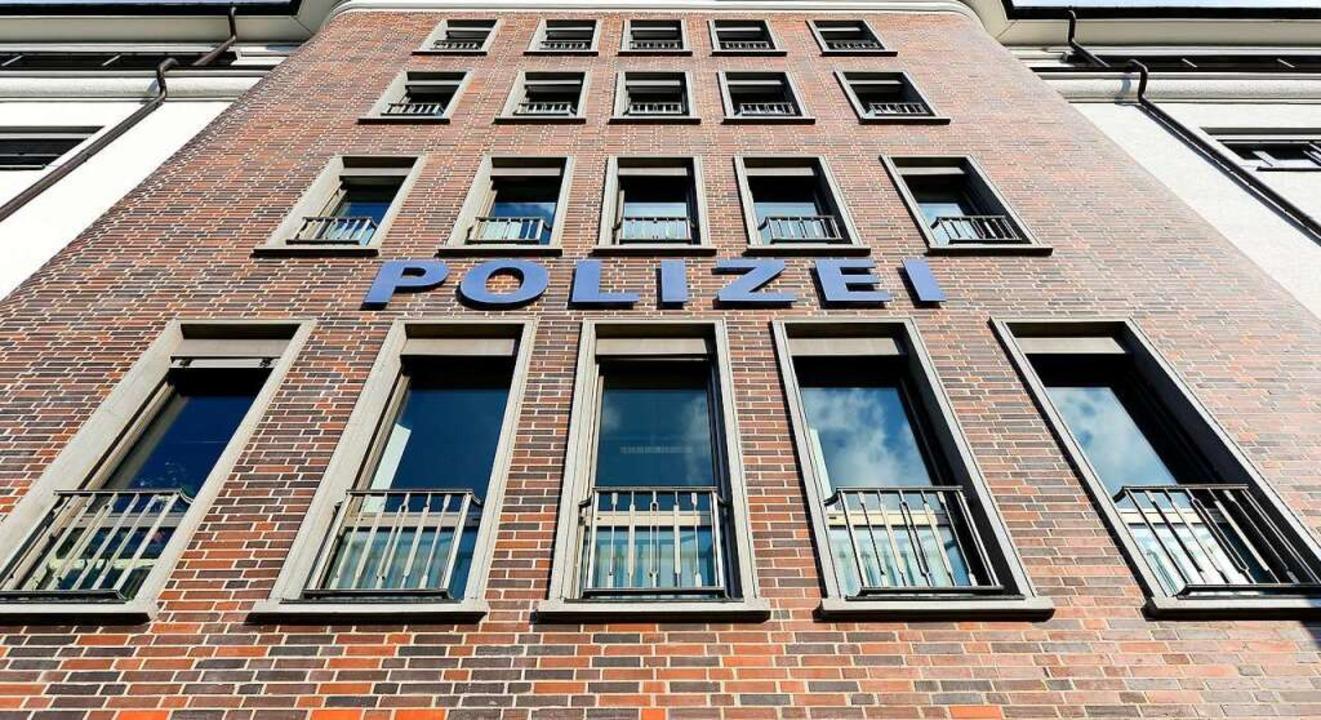 Das Freiburger Polizeirevier Süd an der Heinrich-von-Stephan-Straße    Foto: Ingo Schneider