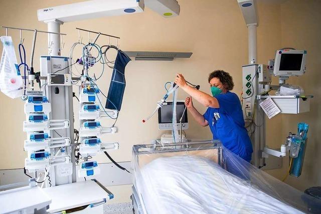 Erstmals seit Oktober weniger als 1000 Corona-Patienten auf Intensivstationen