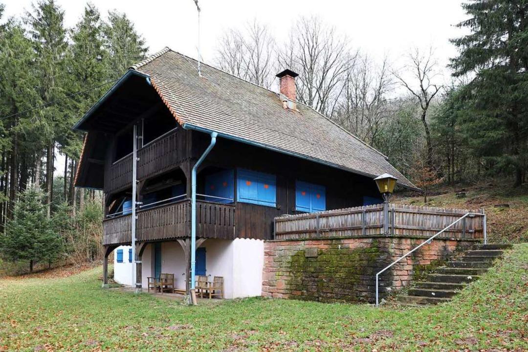 Die Lahrer Hütte auf dem Geisberg öffnet am 3. Juli.     Foto: Christoph Breithaupt