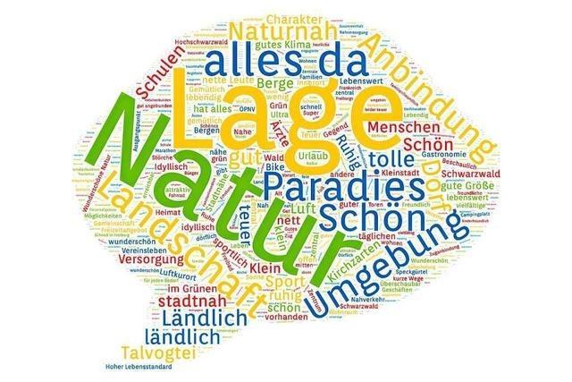 Umfrage: 99 Prozent der Kirchzartener leben gerne in ihrem Ort