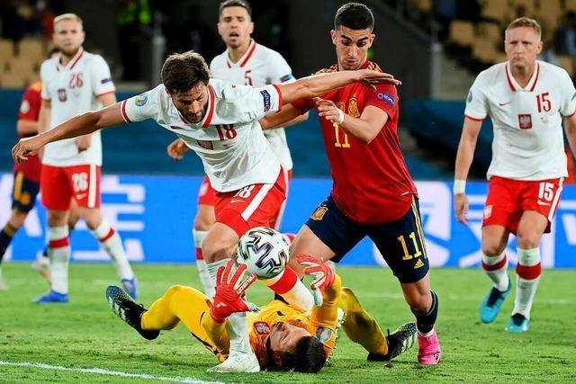 1:1 – Spanien zittert nach Remis gegen Polen ums EM-Achtelfinale