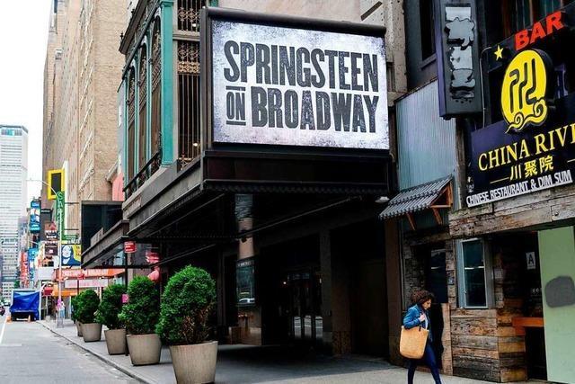 Bruce Springsteen hat noch lange nicht genug