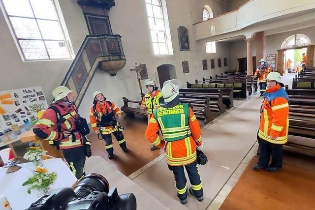 Bombacher Kirche entgeht Großbrand