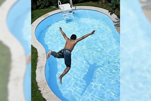 Der coole Pool für daheim