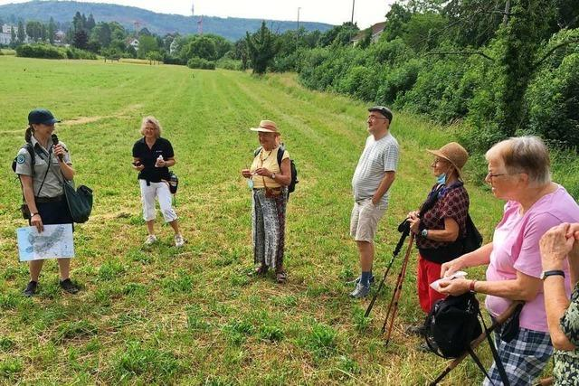 Mit Rangerin Martha Koelbling durch den Landschaftspark Wiese