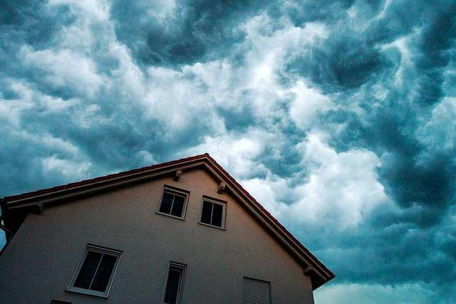 Unwetter und schwere Gewitter am Sonntag in Südbaden erwartet