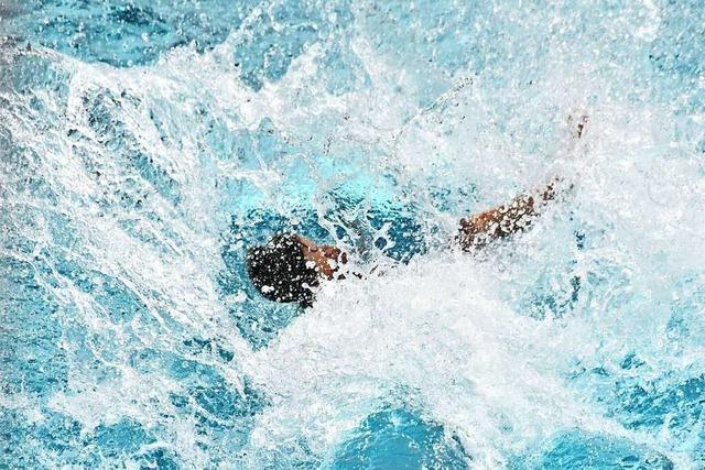 Das Badevergnügen im Lörracher Parkschwimmbad ist trotz der Auflagen groß