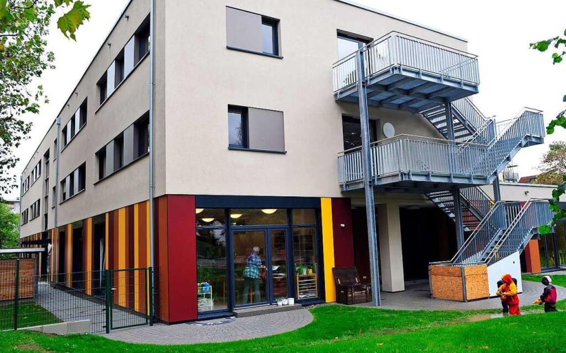 Kindergarten und Kindertagesstätte St. Michael in Haslach.    Foto: Thomas Kunz
