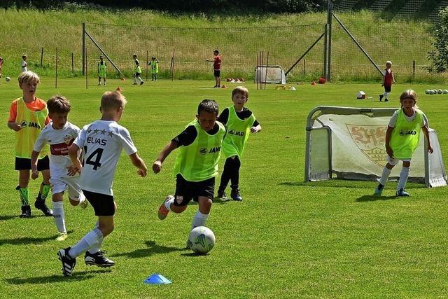 Camp für kleine Kicker