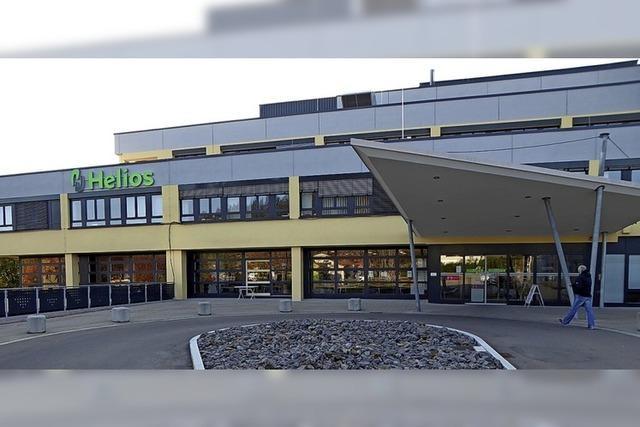 Helios Kliniken lockern ihren Besuchsstopp